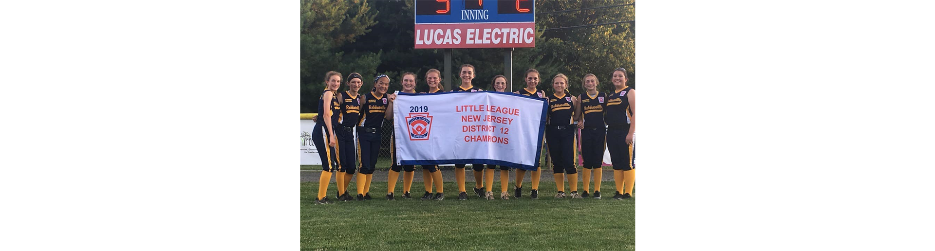 2019 LL Softball 12's NJ State Champions