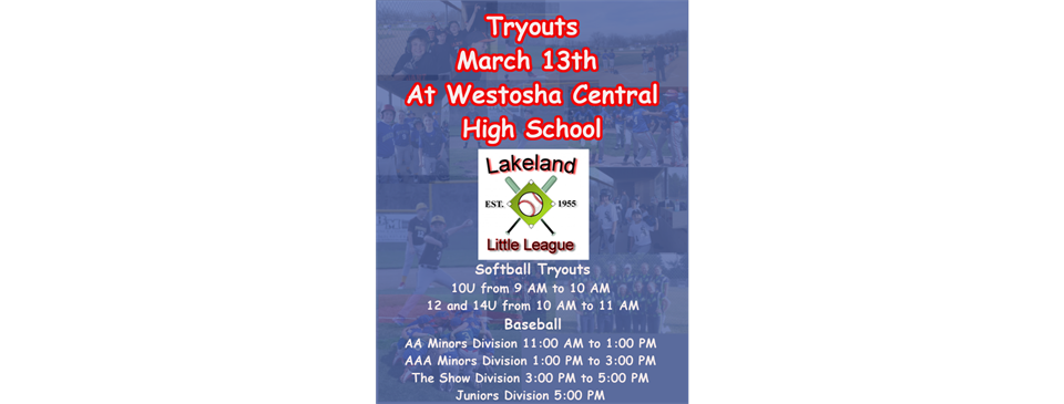 Tryouts Click Here for Details