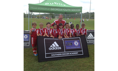 U9 Boys Academy Takes 2nd in SSA Summer Classic!