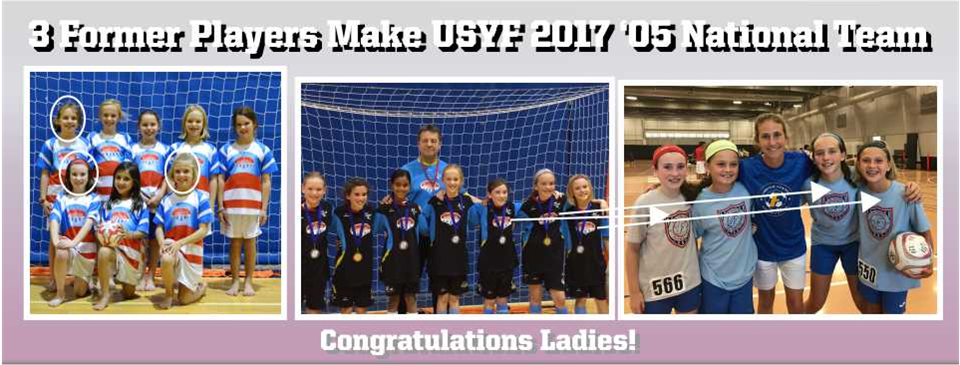 3 Former Players Selected To USYF National Team
