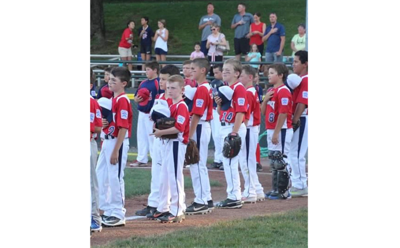 One of Little League's Many Great Traditions!