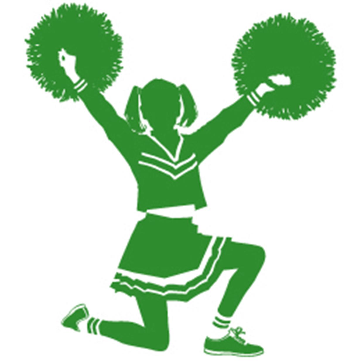 cheerleader clipart svg - photo #33