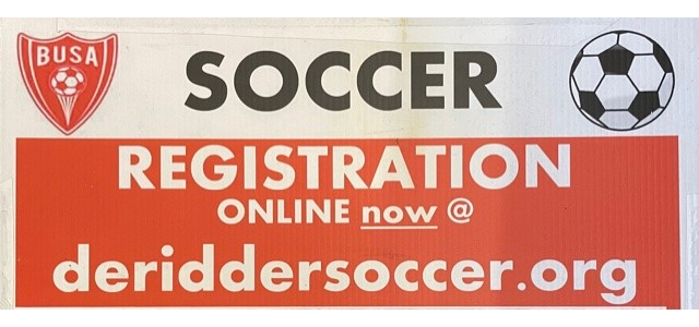 Soccer signups