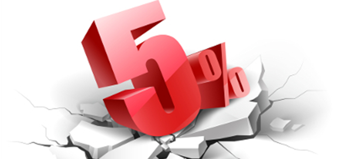 5% Off Registration For The Month of January