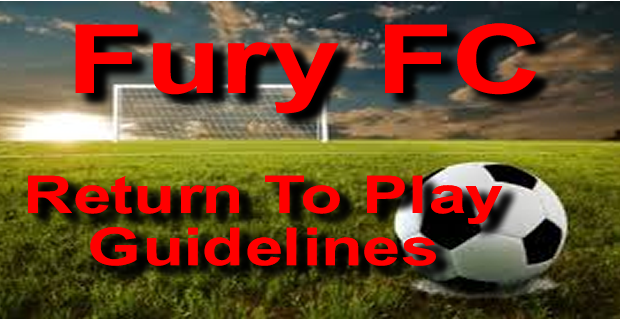 Fury FC Return To Play Guidelines