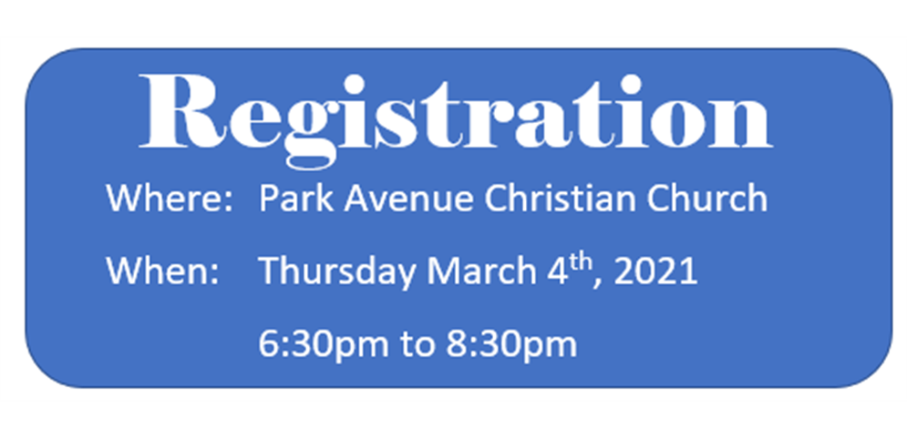 In-Person Registration