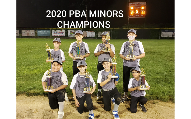 PBA 2020 MINORS DIVISION CHAMPS