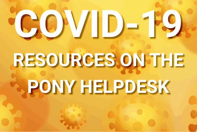 PONY Coronavirus Resources