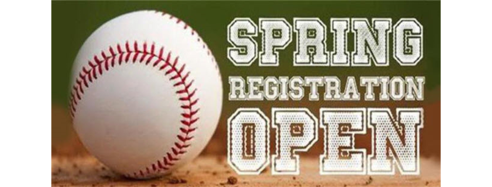 2021 Baseball Registration Open!!