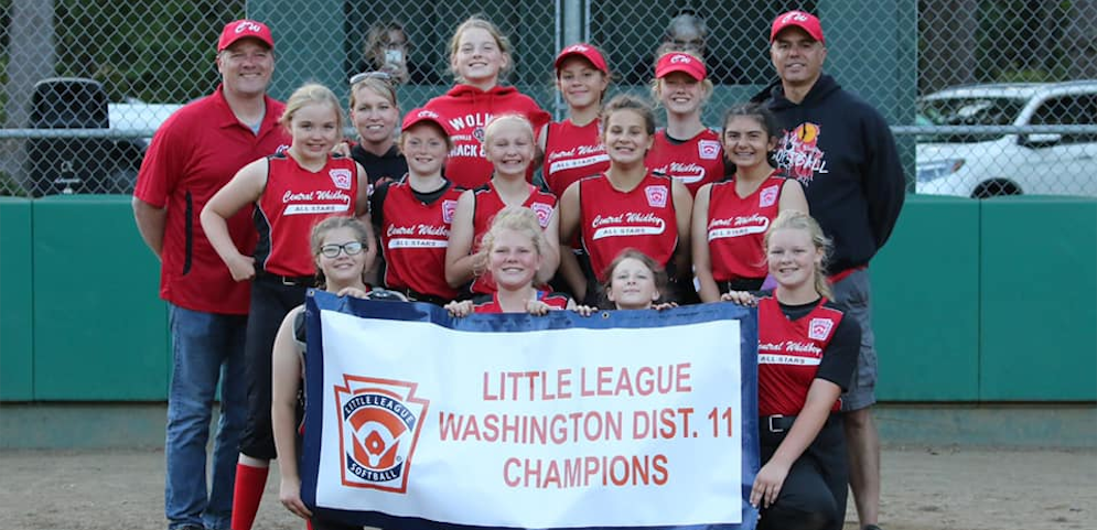 2019 District 11 Little League Softball Champions