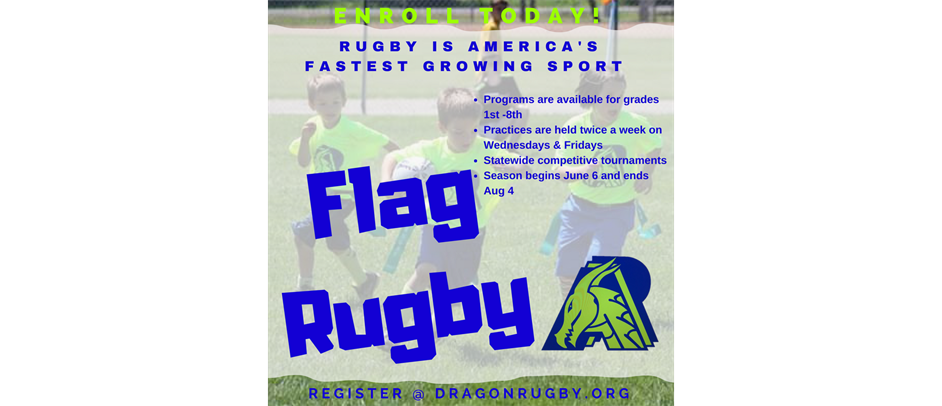 Flag Rugby Grades 1-8