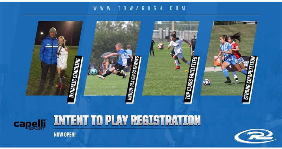 Iowa Rush South Tryouts- Register NOW