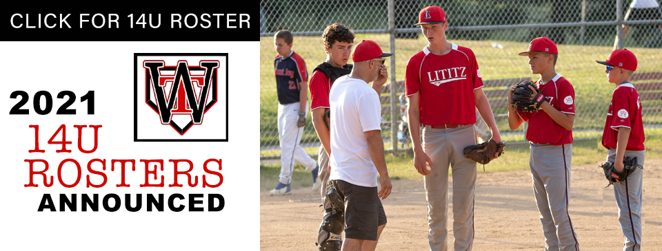 14U ROSTERS ANNOUNCED