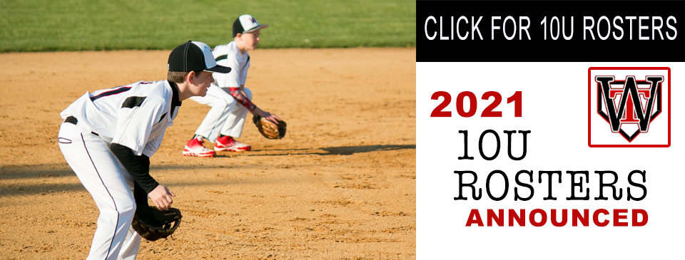 10U ROSTERS ANNOUNCED