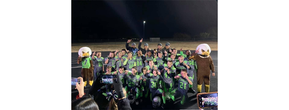 2019 5th grade Super Bowl  CHAMPS!!!!