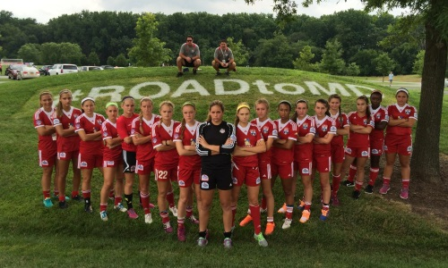 U16 Girls Finish As Runner-Up At USYS National Championships