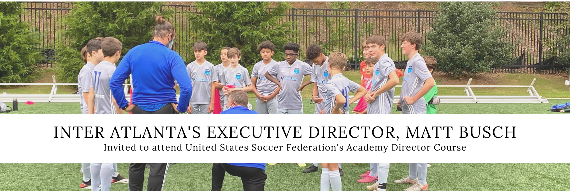 Matt Busch Invited to Academy Director Course