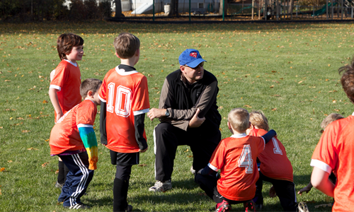 Our volunteer coaches make the difference