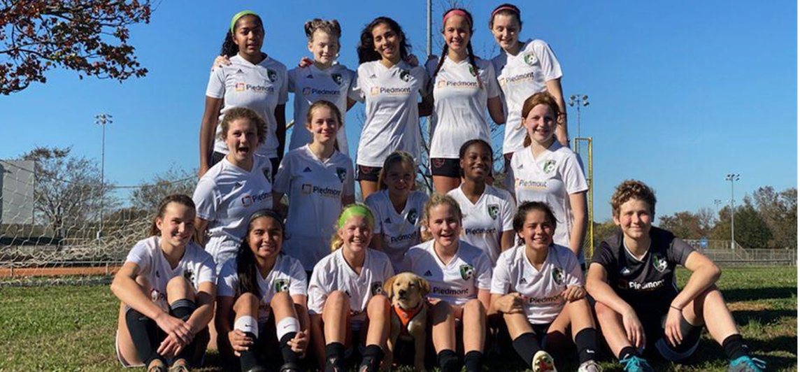 06 Girls Reach Final Four of Ga State Cup!