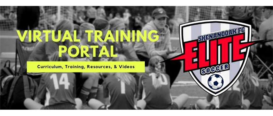 SHENANDOAH FC ELITE ADAPTS WITH THE LAUNCH OF ITS VIRTUAL TRAINING PORTAL