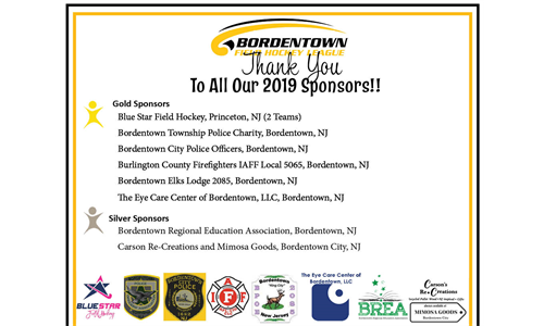 Thank you 2019 Sponsors!