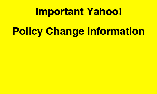 how to change yahoo primary id