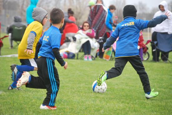 MCSA U7 Soccer Game in Clarksville, TN