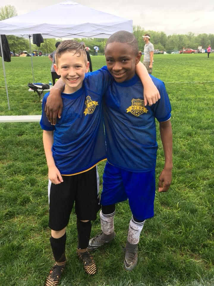 MCSA Clarksville Soccer Teammates