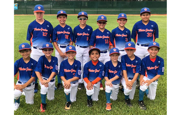 Baseball TOC 2019 Team - 9 YEAR OLDS