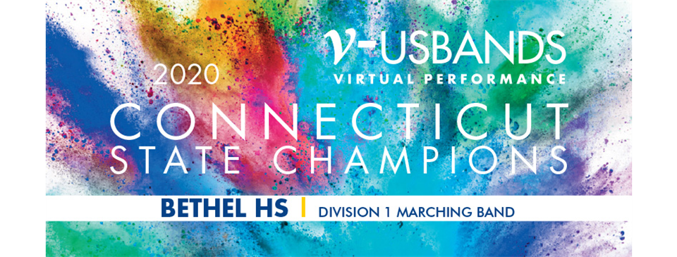 Bethel Marching Wildcats USBands Connecticut State Champs!