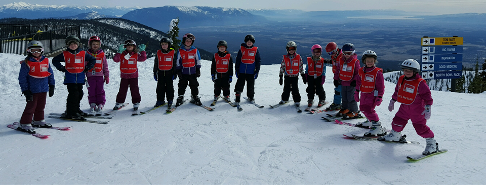 Ski Club on the summit!