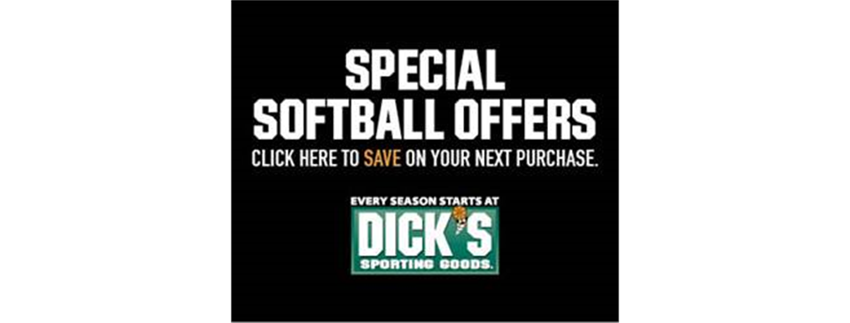 DICK's Sporting Goods Softball Coupons 2021