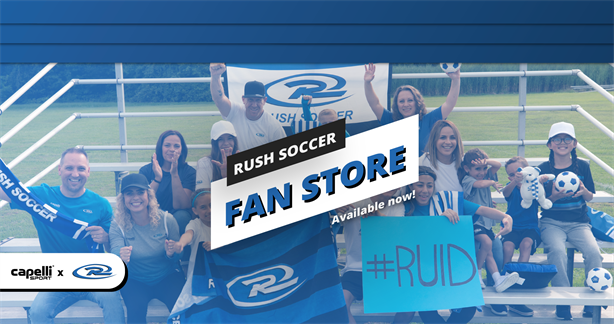 RUSH SOCCER FAN STORE, NOW AVAILABLE!