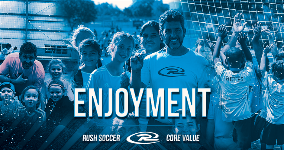 National Developmental Director Chris Panayiotou on Enjoyment: Core Value Highlight