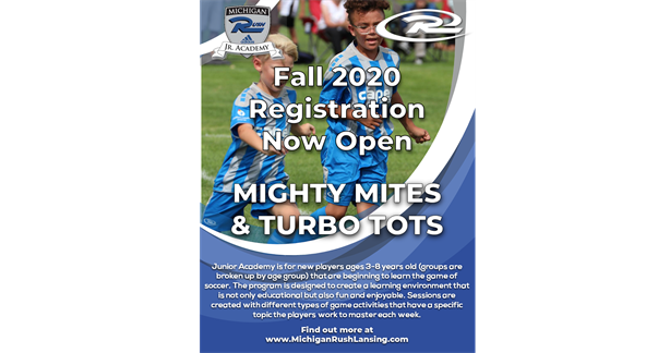 JR Academy Fall 2020 Registration Now Open