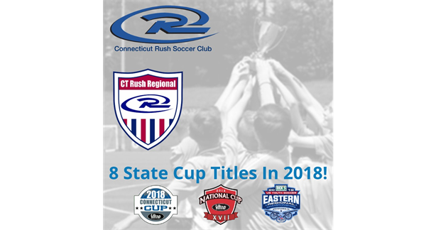 CT Rush Win 8 State Cup Titles!