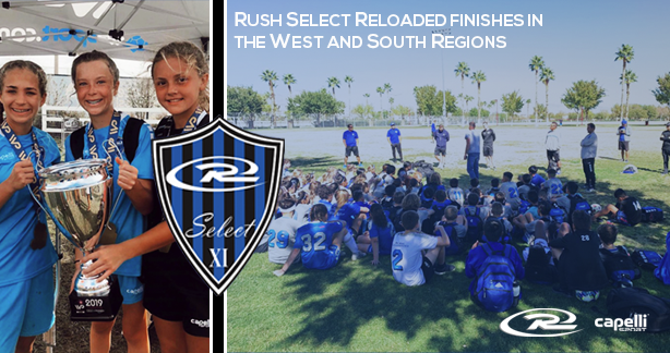 Rush Select Reloaded Finishes in the West and South Regions