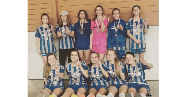 06 Girls win Presidents Day Cup