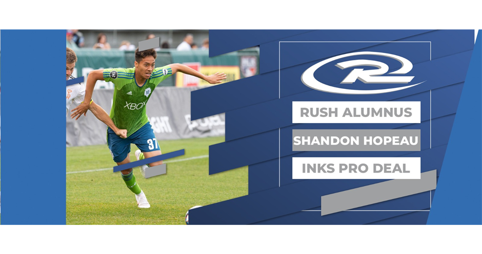 HAWAI'I RUSH'S HOPEAU SIGNS WITH SEATTLE SOUNDERS