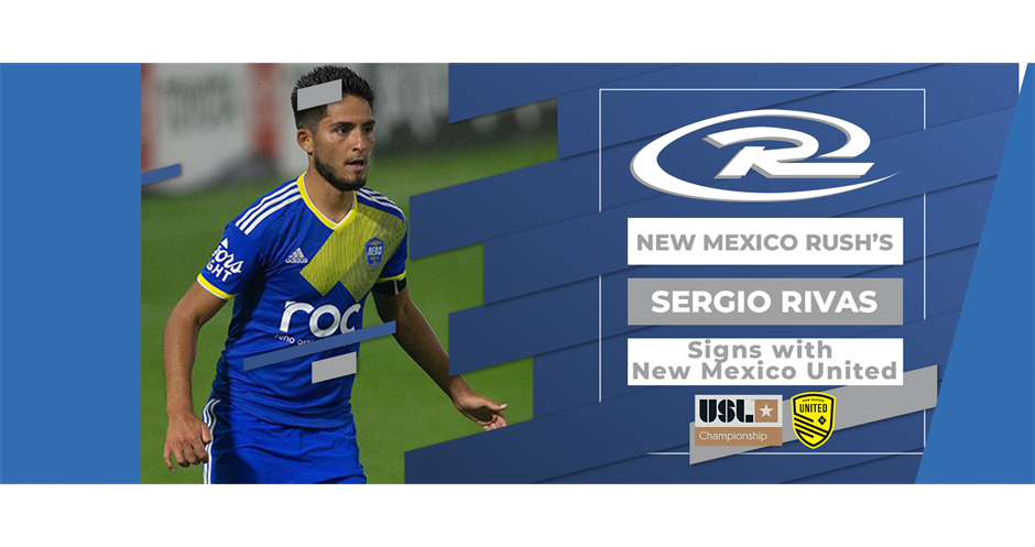 New Mexico Rush's Sergio Rivas continues pro career with New Mexico United