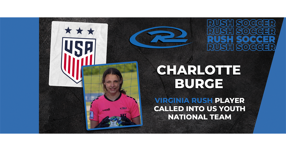 Virginia Rush Player Called into US Youth National Team