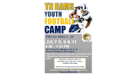 Tennessee Rams Football Camp