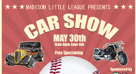 Car Show Fundrasier moved to May 30th