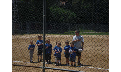 TBall on a Saturday at Haubner Field #1