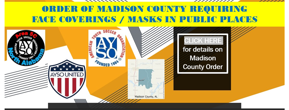 Masks Required in Madison County