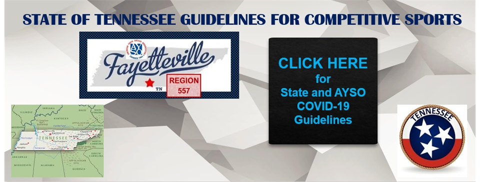 Tennessee Competitive Play / COVID-19 Guidelines
