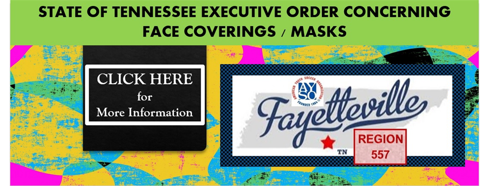 Tennessee Executive Order Concerning Masks