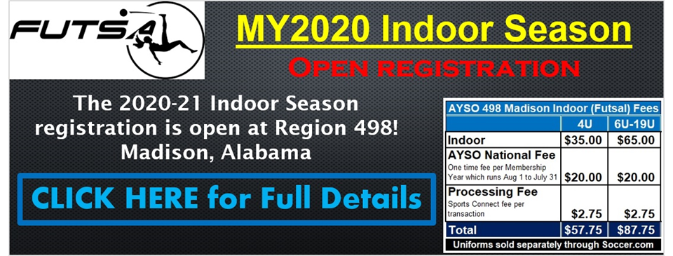 2020-2021 Region 498 Indoor Season Open