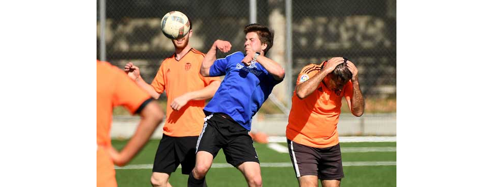 In Caltech soccer league, there's little brawn but plenty of brains