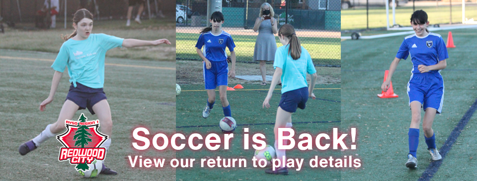 Return To Play Soccer Is Here!